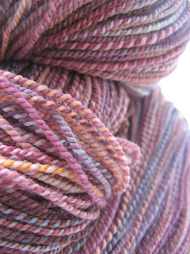 girly comfort handspun