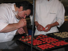 Pierre Hermé: Finishing the Chocolate and Foie Gras Macaron