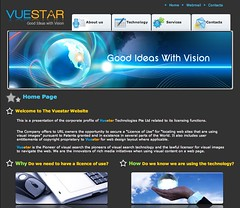 Vuestar Website