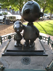 Statue in Tribute to Charles Schulz