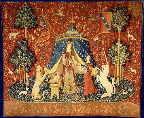 04- La dama del unicornio siglo XV
