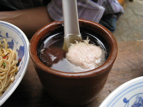 香菇肉饼汤