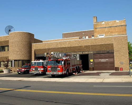 Fire Fighters Memorial Fire Station, Jersey City Fire Department - a