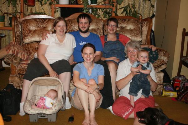Davis family June 2008