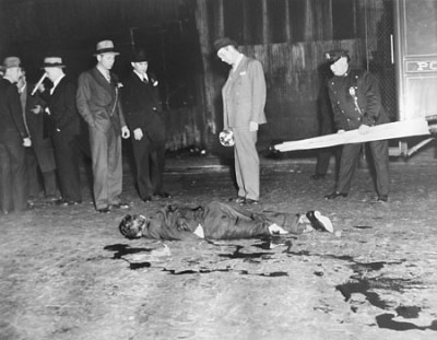 New York Murder, by Weegee by daniel silliman.