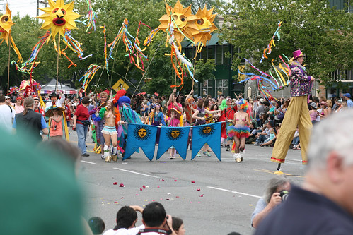 Start of the Fremont Solstice Parade