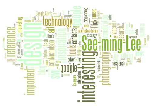 Wordle: SML Del.icio.us Tags / 2008-06-23 / SML Screenshots (by See-ming Lee 李思明 SML)