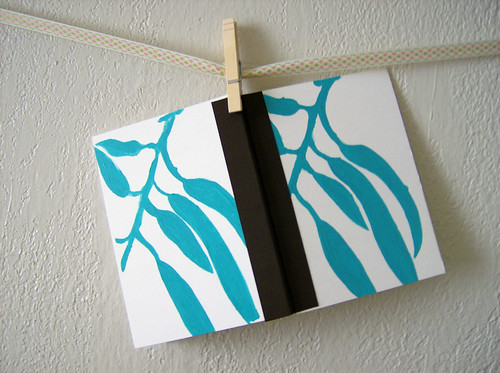 Eucalyptus Notebook - Wide
