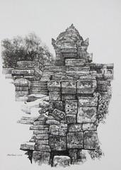 ANGKOR 21 (Mark Boy Harris) Tags: art painting temple ruins cambodia drawing angkorwat angkor wat