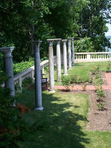 Columns in Rose Garden
