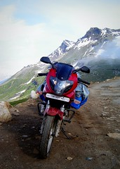 DSC08486 (SandeepRathod) Tags: road trip camping india bike night speed way la highway key head delhi helmet royal 8 gear off tent safety jacket gloves national bombay worlds motorcycle bullet express lamps raod mumbai leh eight jaipur pulsar manali bikers udaipur ladakh enfield 220 karizma highest avenger roading motorable khardung bombaybikers raodies