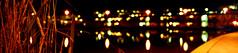 Lake on campus (redgeckoTO) Tags: light architecture night campus stuttgart vaihingen lightatnight mediengestaltung hochschuledermedien