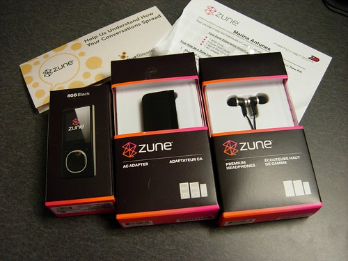 Zune - The Boxes