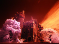 casa loma - ir (paul bica) Tags: pictures life sky toronto hot color colour tree a