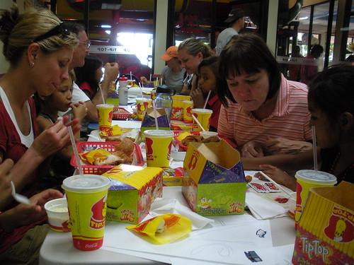Eating at Tip Top