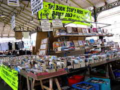 The Book Stops Here (George D Thompson) Tags: uk england lancashire preston pun bookstall montijoverdeeamarelo thecoveredmarket