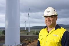 Dave at Waubra Wind Farm