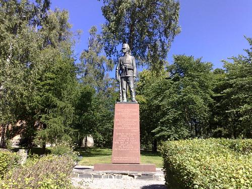 Vaasa, Jääkäri - Jaeger monument by Lauri Leppänen