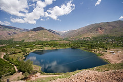 Ovan Lake (Ali Majdfar) Tags: mountain nature cloudysky alborziran gettyimagesmiddleeast