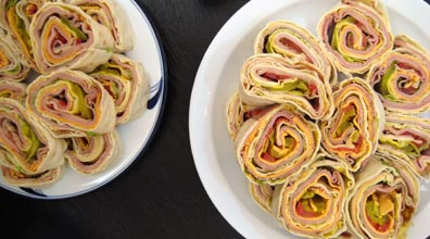 Rolled Sandwiches
