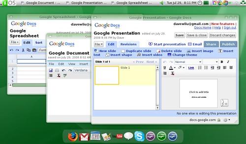 jobykent님이 촬영한 Mozilla Prism - Google mail.