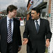 Nick Clegg and Tariq Khan