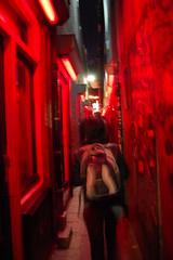 Red Zone in Amsterdam (mujer_maravilla) Tags: street light red hot holland sexy rot amsterdam rouge calle prostitute bitch holanda puta zona zone roja prostituta niederland