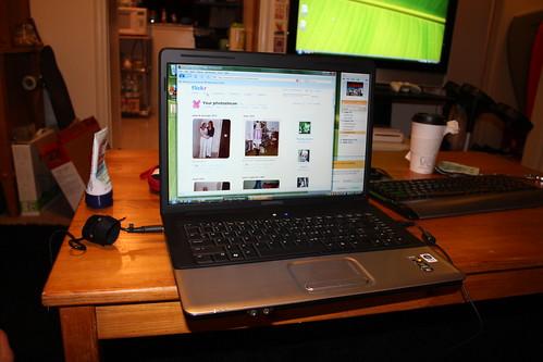 My new laptop!!