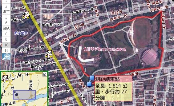 running map