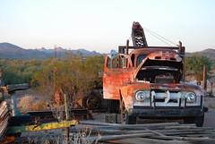 DSC_0094 (Weaselcommander) Tags: arizona nikon desert mater oldtruck tow tortillaflats wrecker d4x
