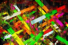 Festes de Grcia 2008! (MarcelGermain) Tags: barcelona street city light colors festival night geotagged lights nikon colorful colours decoration catalonia catalunya colourful 2008 grcia llums festamajor festesdegrcia d80 marcelgermain