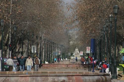 Paseo Bulnes, Santiago - Chile