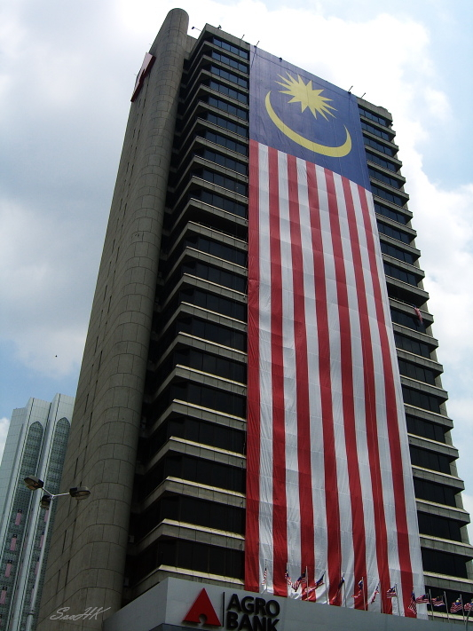 Pic with Malaysia Flag