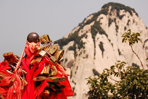Forever together in Huashan