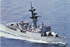 USS Rathburne FF-1057 (Marion Doss) Tags: america us ship unitedstates ships navy frigate naval usn ff uss unitedstatesnavy fastforty rathburne ff1057
