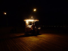 Night Cafe (Tal Bright) Tags: light night dark telaviv harbour pica kiosk withmayanewman picamagazine