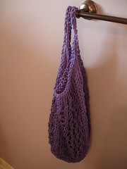 Purple Stow Away Bag
