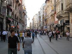 Istikal walking street