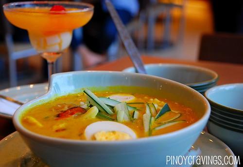 Curry Laksa at Penang Hill Malaysian Restaurant