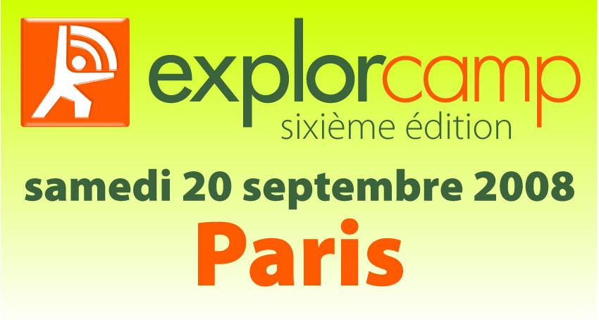 Explorcamp Paris sixième édition