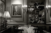 Restaurant  Procope -Paris- (nicolas.gr) Tags: light bw paris france corner restaurant glasses chairs nicolas tables persons procope pilion abigfave lezas isawyoufirst betterthangood