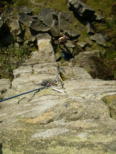 Climbing at Curbur