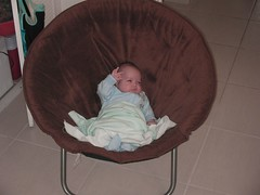 Ben in his lounge chair