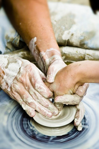 the potter's hands...and heart
