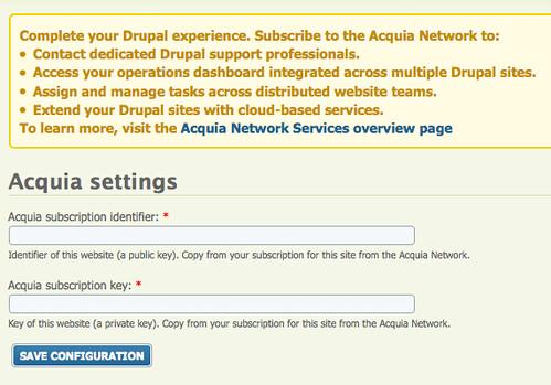Acquia Drupal