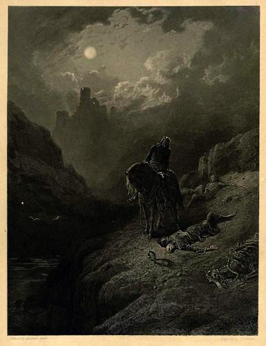 01- El Rey Arturo descubriendo los esqueletos de los hermanos