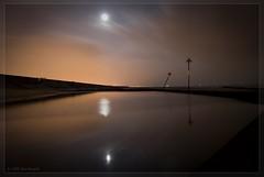 Canvey Kids Pools at Night (Mr Burpy) Tags: sea moon reflection slr kids night digital swimming ed paul island nikon double pools 1855mm 135 nikkor dslr expensive afs dx canvey d40x 56gii burpitt