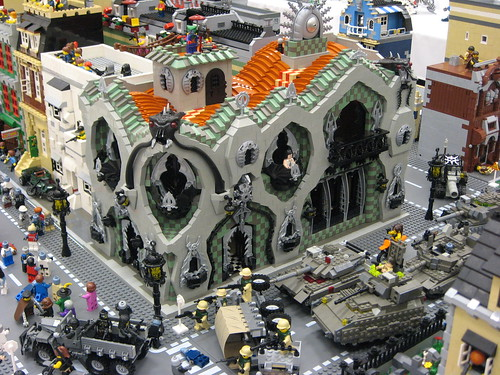 lego army vs zombies