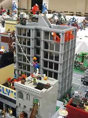 Zombie Apocafest 2008 - Brandon's office building (Dunechaser) Tags: lego zombie events valve displays undead zombies tbb brickcon brickarms thebrothersbrick brothersbrickcom brickcon2008 brickcon08 apocafest