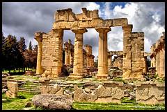 Temple of Zeus (Cyrene, Libya). (Bashar Shglila) Tags: greek temple ancient athens zeus libya romans jabal akhdar   libyen cyrene archaeologists lbia cyrenaica libi libiya  liviya libija  shahat bentaher      lbija  lby libja lbya liiba livi